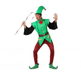Disfraz de Elfo para hombre talla M-L