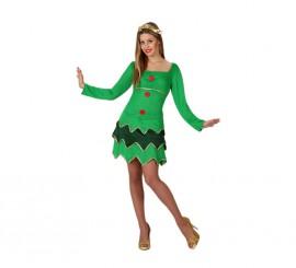 Disfraz de Árbol de Navidad para mujer talla M-L