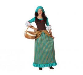 Disfraz de Pastora de mujer talla M-L