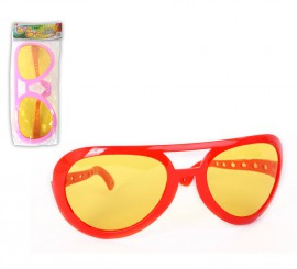 Gafas fashion gigantes 2 colores surtidos