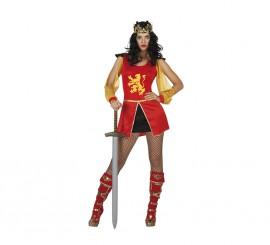 Disfraz de Guerrera Medieval sexy para mujer