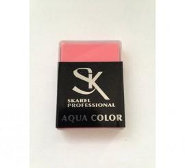 Cajita de Maquillaje Profesional al agua Rosa de 12 gr.