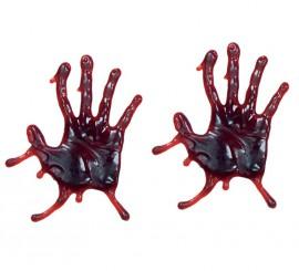 Bolsa de 2 manos sangre en gel para Halloween