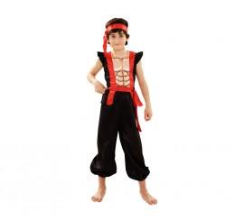Disfraz de Ninja Musculoso para niños en varias tallas