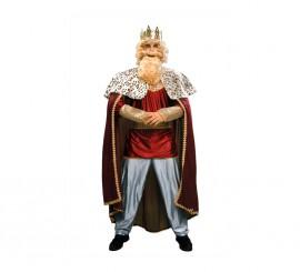 Disfraz de Rey Mago rojo - Traje de Rey Mago