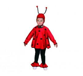 Disfraz de Mariquita para niñas de 3 a 4 años