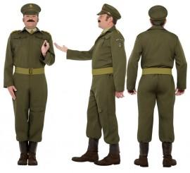 Disfraz Capitán Guardia Nacional 2ª GM para Hombre