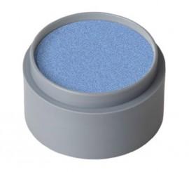 Maquillaje al agua 15 ml. color azul fuerte perla