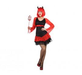 Disfraz para mujer de Demonia Disco para Halloween