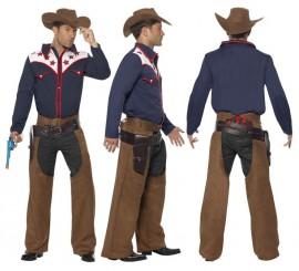 Disfraz de Cowboy de Rodeo para hombre en varias tallas