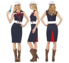 Disfraz de Cowgirl de Rodeo para mujer en varias tallas