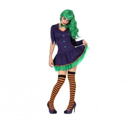 Disfraz de Payasa Malvada para mujer para Halloween