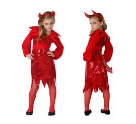 Disfraz para niñas de Demonia Disco
