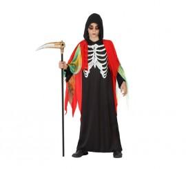 Disfraz de Muerte Esqueleto Zombie para niño en varias tallas