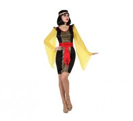 Disfraz de Egipcia negro para mujer de la