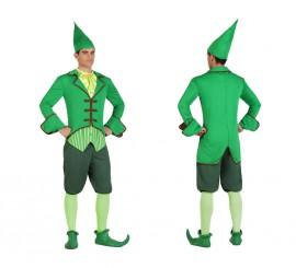 Disfraz de Duende Verde Irlandés para hombre
