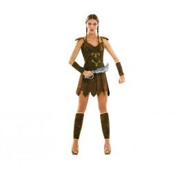 Disfraz de Guerrera o Gladiadora talla M-L mujer
