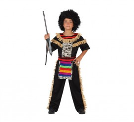 Disfraz de Zulú para niños