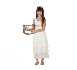 Disfraz para niñas de Diosa Romana