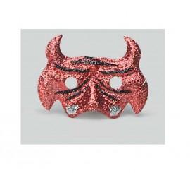 Antifaz Demonio de escarcha para Halloween