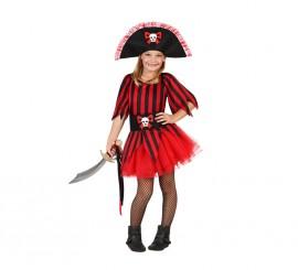 Disfraz para niñas de Pirata tutú