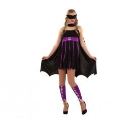 Disfraz de Heroína Fantástica para chicas talla S