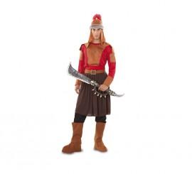 Disfraz de Mongol Gengis Kan para hombre talla M-L
