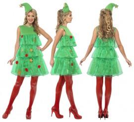 Disfraz de Árbol de Navidad con Tutú de Mujer en varias tallas