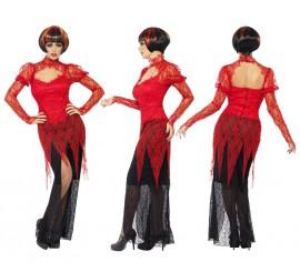 Disfraz de Diablesa de Encaje para Mujer