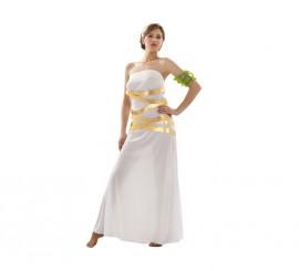 Disfraz de Diosa Artemisa para mujer talla M-L
