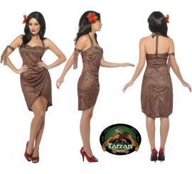Disfraz de Jane Pin-Up de Tarzán para Mujer en varias tallas