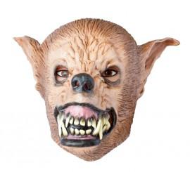 Máscara Hombre Lobo Económica para Halloween
