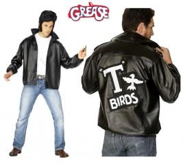 Chaqueta T-Birds de Grease con logo bordado hombre