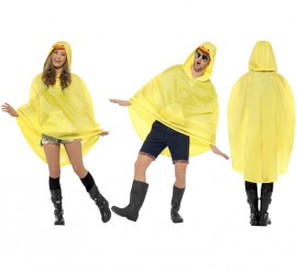 Chubasquero Party Poncho Pato