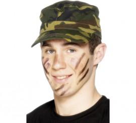 Gorra del Ejército de Camuflaje