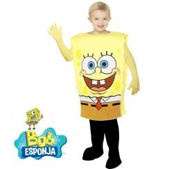 Disfraz de Bob Esponja para niños en varias tallas