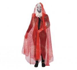 Capa rejilla adulto para Halloween