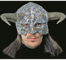 Casco Mascarilla monstruo Vikingo