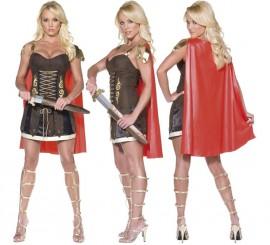 Disfraz de Gladiadora o Guerrera Romana para mujer en varias tallas
