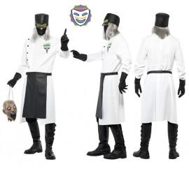 Disfraz de Médico o Doctor Loco para Hombre en varias tallas