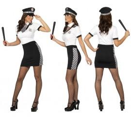 Disfraz de Policía Sexy para Mujer en varias tallas