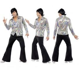 Disfraz Disco Años 70 Retro Psicodélico para Hombre en varias tallas