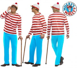 Disfraz de Dónde está Wally: Wally para Hombre en varias tallas