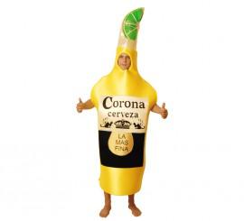 Disfraz de Botella de Cerveza para Adultos talla Universal