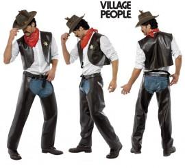 Disfraz de Vaquero Cowboy de los Village People para Hombre