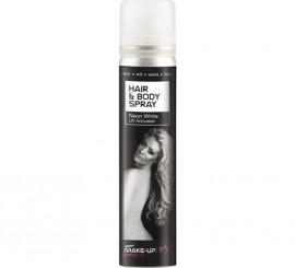 Spray Pintura Cuerpo y Cabello Fluorescente color Blanco