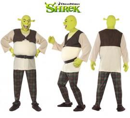 Disfraz de Shrek para hombre talla L