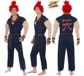Disfraz de Akuma de Street Fighter IV para hombre talla M