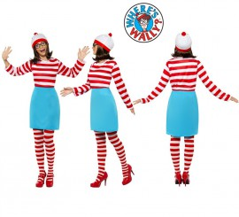 Disfraz de Dónde está Wally: Wenda para Mujer en varias tallas