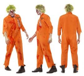 Disfraz de Condenado a Muerte Zombie para Hombre en varias tallas